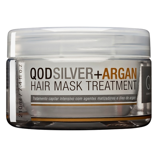 QOD SILVER + ARGAN HAIR MASK TREATMENT