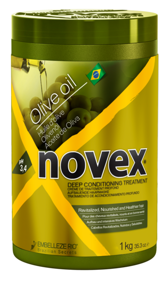 NOVEX OLIVE OIL SALT FREE DEEP CONDITIONING TREATMENT MASK 1KG