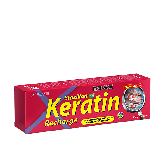 NOVEX BRAZILIAN KERATIN RECHARGE LEAVE IN CONDITIONER 80G