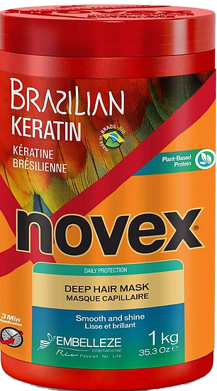 NOVEX BRAZILIAN KERATIN DEEP CONDITIONING MASK 1KG