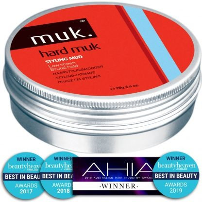 Hard Muk, Brutal Hold Natural Matte Hair Styling Mud 95g