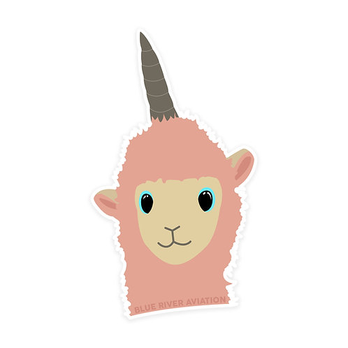 Donna the Llama Sticker