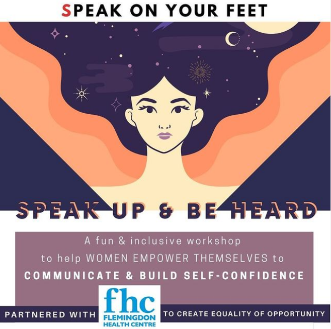 Speak Up & Be Heard