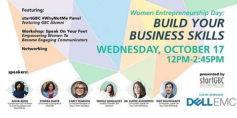 Women Entrepreneurship Day - Build Your Business Skills