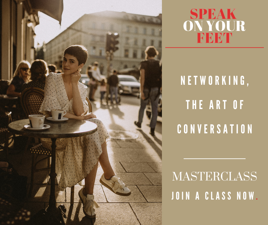 MASTERCLASS: Networking, the Art of Conversation