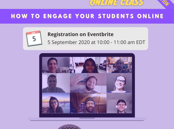 How To Engage Your Students Online