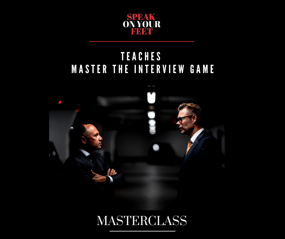 MASTERCLASS: Mastering the Interview Game