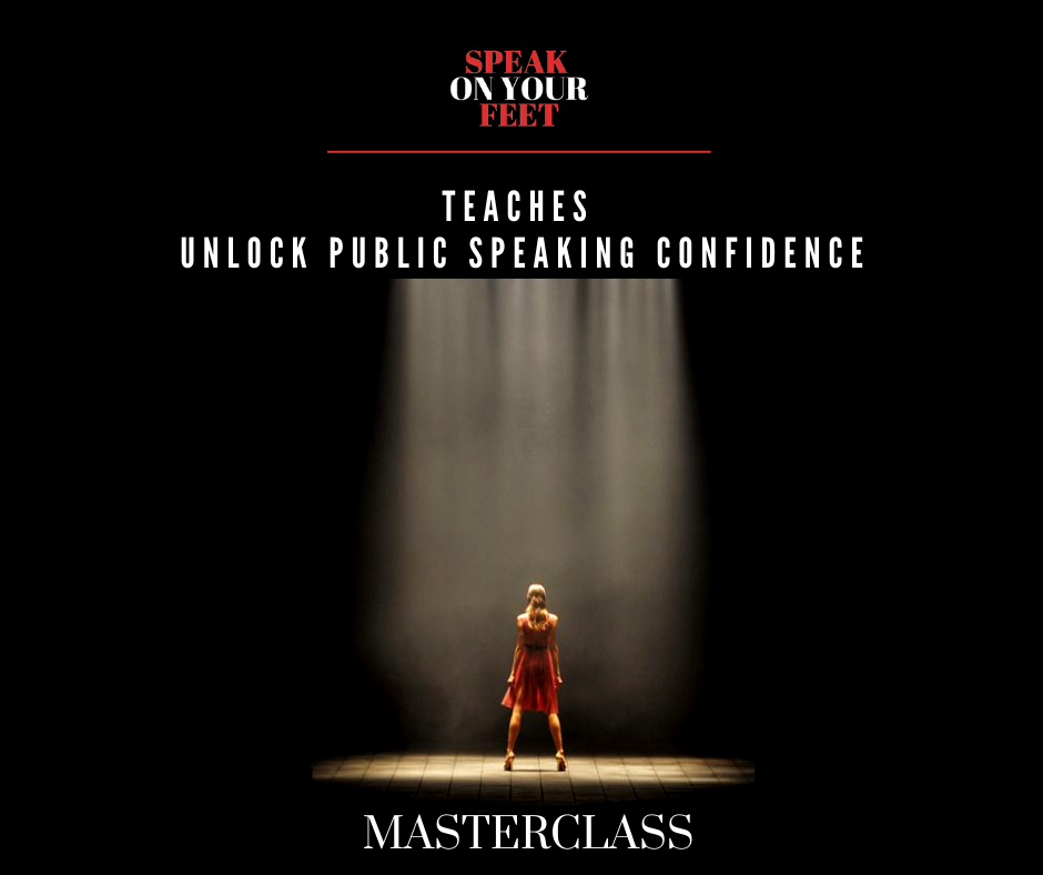 MASTERCLASS: Unlock Public Speaking Confidence