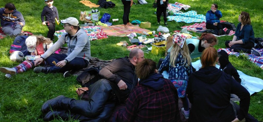 Picknick mit den Familien 2018