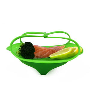 3 Cookwares to use Silicone Steamer Basket