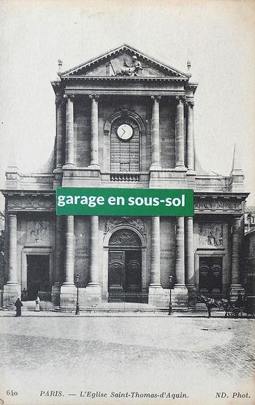 Samuel Arthur, artiste, For sale, Garage en sous-sol