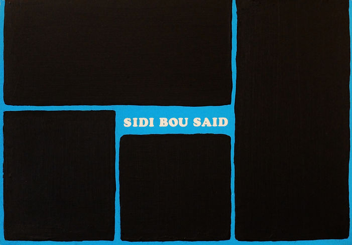 Samuel Arthur, artiste, Around the world, Sidi Bou Saïd