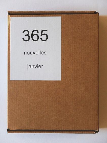Samuel Arthur, artiste, 365 nouvelles, janvier