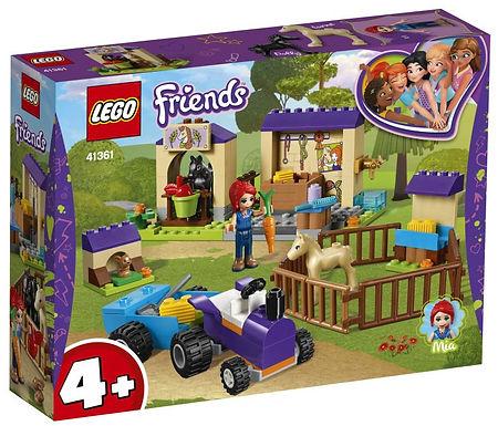 Mia's veulenstal (Lego Friends)