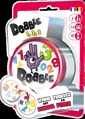 Verjaardagsbox Dobble 1,2,3 (blister)