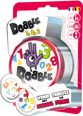 Verjaardagsbox Dobble 1,2,3 (blister)
