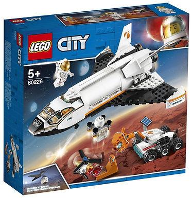 Verjaardagsbox Mars onderzoeksshuttle - Lego City