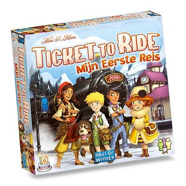Ticket to ride - Mijn eerste reis