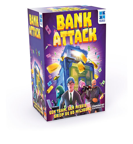 Verjaardagsbox Bank Attack