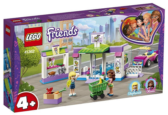 Verjaardagsbox Lego Friends Haertlake city supermarkt