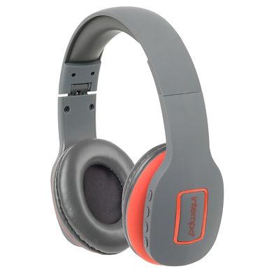 Hoofdtelefoon Bluetooth Intiempo Active (grijs)