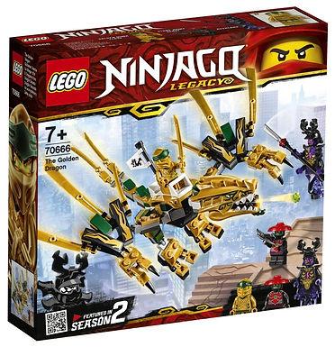 Verjaardagsbox De Gouden Draag - Lego Ninjago