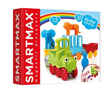 Verjaardagsbox Smartmax Dierentrein