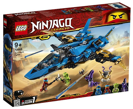 Verjaardagsbox Jay's storm fighter 9+ (Lego Ninjago)