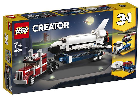 Verjaardagsbox Spaceshuttle Transport - Lego Creator