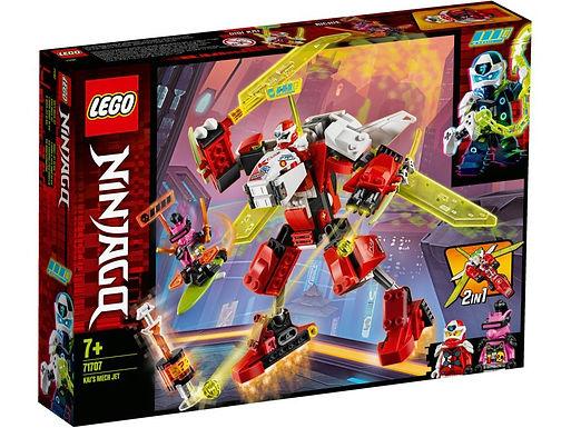 Verjaardagsbox Kai's Mech Jet Lego Ninjago