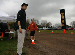 Race Director Bob Sumada keeps a tight reign on the race. ToddFawcettPhotography.com