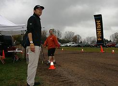 Race Director Bob Sumada keeps a tight reign on the race. ToddFawcettPhotography.com