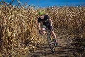 Mike Brotman navigating the Green Acres corn maze. ToddFawcettPhotography.com
