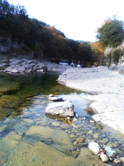 Rio Cinca en Sobrarbe
