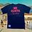 Thumbnail: T-shirt ME GUSTA BRODO blue + rosa