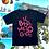 Thumbnail: T-shirt IL  BRODO ME LO GODO  black +rosa