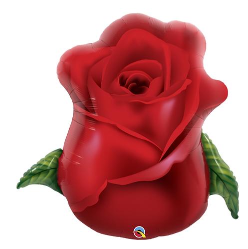 Red Rose Bud - 35inch