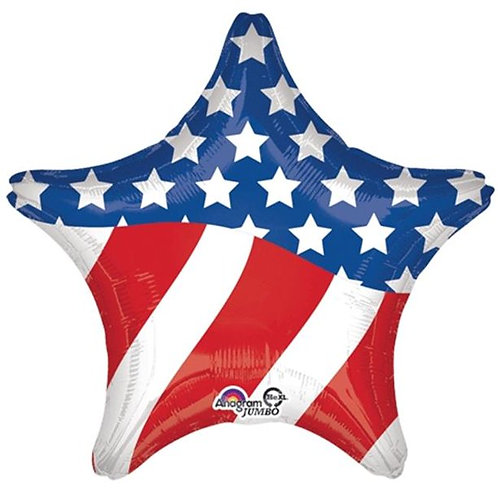 4th of July Star - 18inch