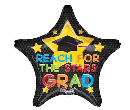 Reach for the Stars Grad! - 18 inch
