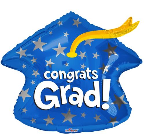 Congrats Grad! - 22 inch