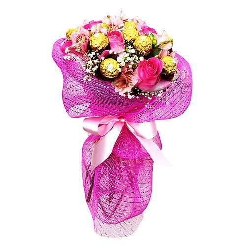 Buque Ferrero com Flores