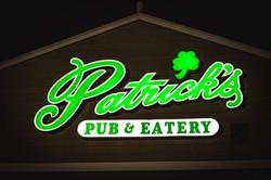 Patrick's Pub Logo Style