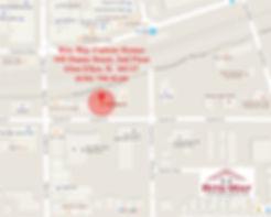 Detailed Glen Ellyn IL map to Rite-Way Custom Homes