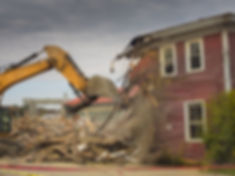 Glen Ellyn and Wheaton, IL house demolitions