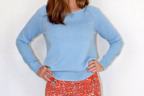 Ice Blue Sweater