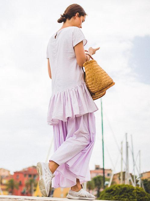 Lilac Layered Dress