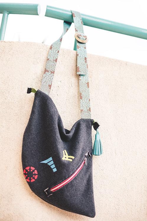 Jersey Boho Bag