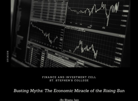 Busting Myths: The Economic Miracle of the Land of the Rising Sun