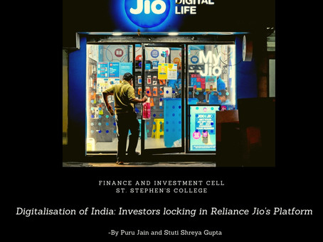 Digitalisation Of India: Investors Locking In Reliance Jio's Platform