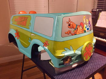 Mystery Machine Power Racer